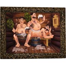 Картина для бани Приятные развлечения B25-R11