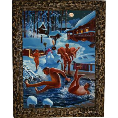 Картина Зимние забавы B7-R11