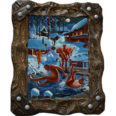 Картина Зимние забавы B7-R7