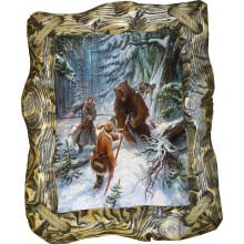 Картина Охота на медведя с рогатиной M1-R1