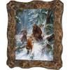 Картина Охота на медведя с рогатиной M1-R5
