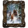 Картина Охота на медведя с рогатиной M1-R7