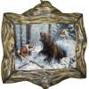 """Картина """"Охота на медведя"""" M14-R10"""