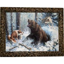 Картина Охота на медведя M14-R11