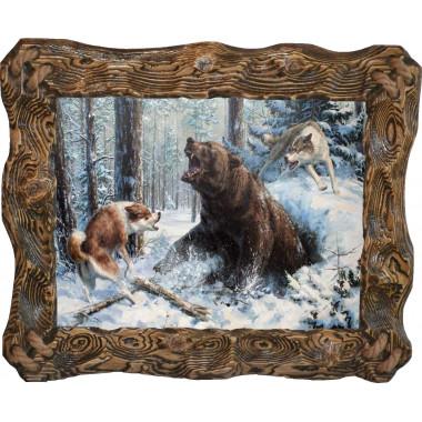 Картина Охота на медведя M14-R5