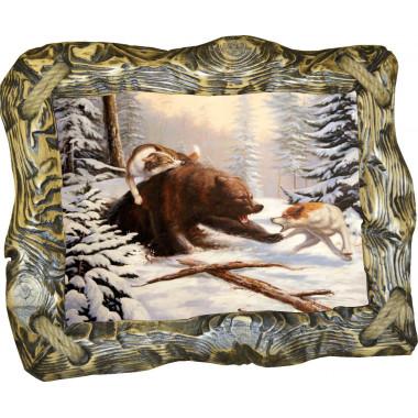 Картина Охота на медведя 2 M27-R1