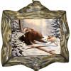 """Картина """"Охота на медведя 2"""" M27-R10"""