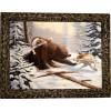 """Картина """"Охота на медведя 2"""" M27-R11"""
