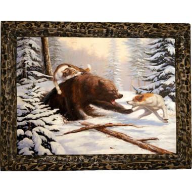 Картина Охота на медведя 2