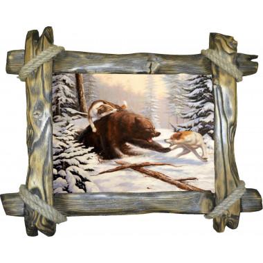 Картина Охота на медведя 2 M27-R2