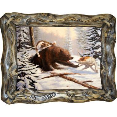Картина Охота на медведя 2 M27-R4
