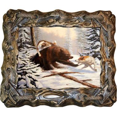 Картина Охота на медведя 2 M27-R6