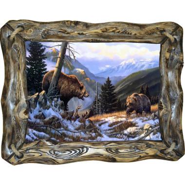 "Картина ""Медведи"" M29-R4"