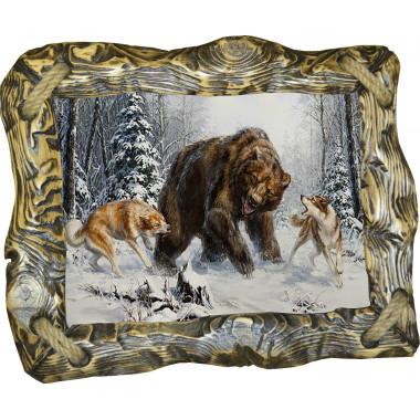 Картина Охота на медведя 4 M30-R1