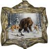 """Картина """"Охота на медведя 4"""" M30-R10"""