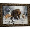 """Картина """"Охота на медведя 4"""" M30-R11"""