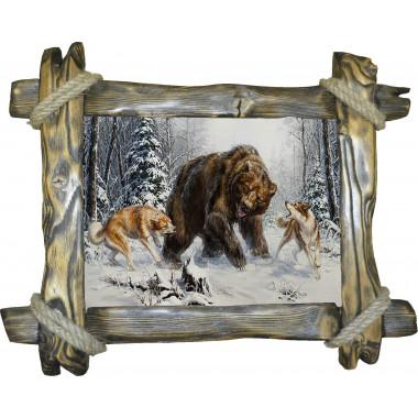 Картина Охота на медведя 4 M30-R2
