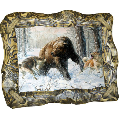 Картина Охота на медведя 5 M31-R1