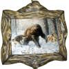 """Картина """"Охота на медведя 5"""" M31-R10"""