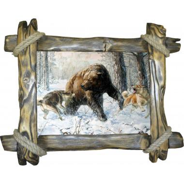 Картина Охота на медведя 5 M31-R2