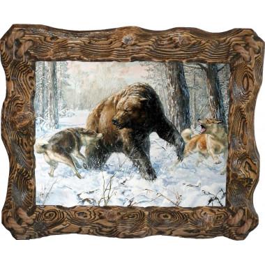 Картина Охота на медведя 5 M31-R5