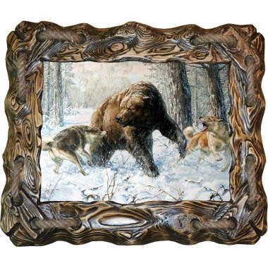 Картина Охота на медведя 5 M31-R6