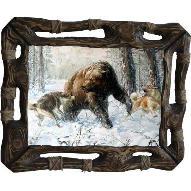 Картина Охота на медведя 5 M31-R8