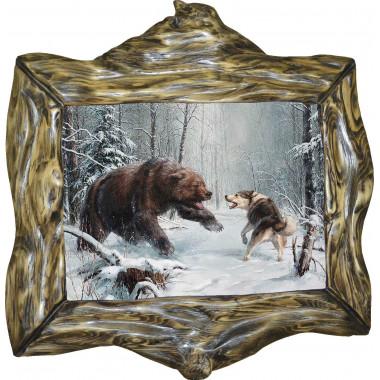 Картина Охота на медведя 6 M32-R10