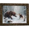"""Картина """"Охота на медведя 6"""" M32-R11"""