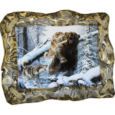 Картина Охота на медведя 7 M33-R1