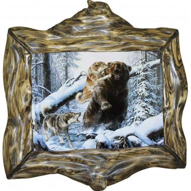 """Картина """"Охота на медведя 7"""" M33-R10"""