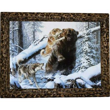 Картина Охота на медведя 7