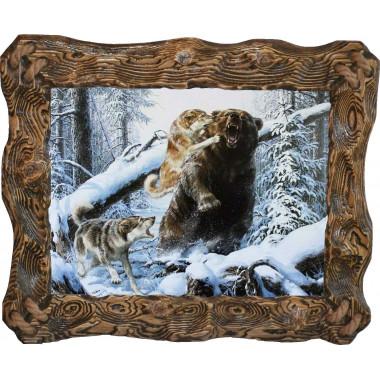 Картина Охота на медведя 7 M33-R5