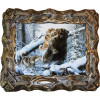 """Картина """"Охота на медведя 7"""" M33-R6"""