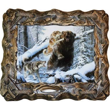 Картина Охота на медведя 7 M33-R6