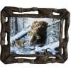 """Картина """"Охота на медведя 7"""" M33-R8"""
