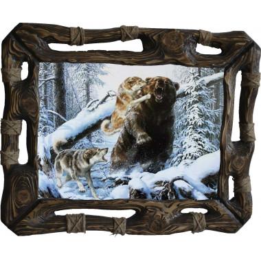 Картина Охота на медведя 7 M33-R8