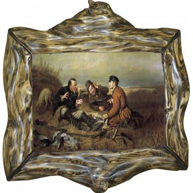 Картина Охотники на привале P4-R10