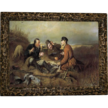 Картина Охотники на привале P4-R11