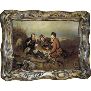 Картина Охотники на привале P4-R4