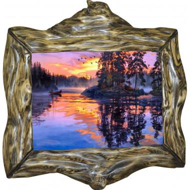 Картина Закат над рекой N100-R10