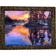 Картина Закат над рекой N100-R11