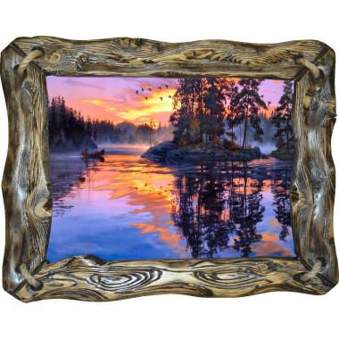 Картина Закат над рекой N100-R4