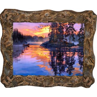 Картина Закат над рекой N100-R5