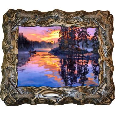 Картина Закат над рекой N100-R6