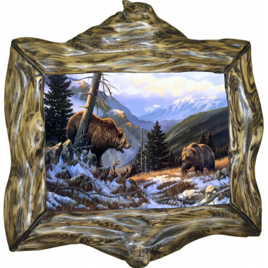 "Картина ""Медведи"" M29-R10"