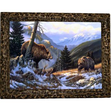 Картина Медведи