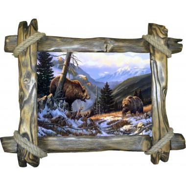 Картина Медведи M29-R2