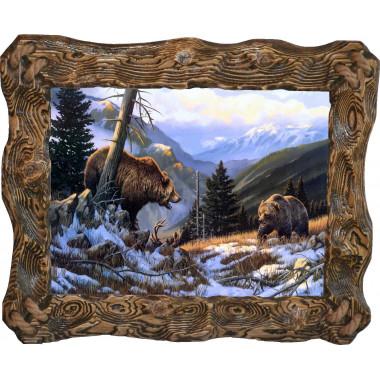 Картина Медведи M29-R5