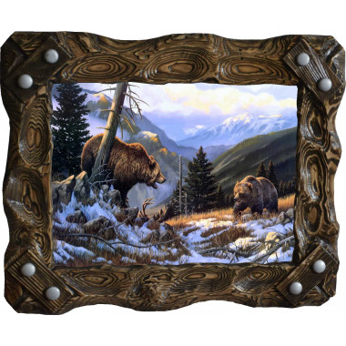 "Картина ""Медведи"" M29-R7"